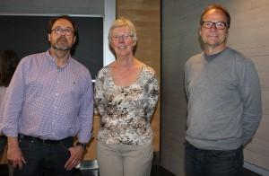 Forelesere Thomas Lundqvist, Janneke van Ufford og Håvard Berge