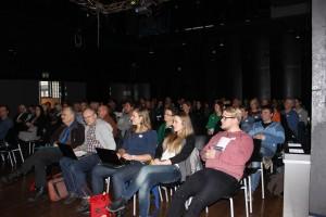 Omlag 100 deltakere fra hele landet var samlet til erfaringsdag på Samsen kulturhus 18/2.