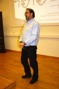 Thomas Lundquist presenterte bakgrunnen for hasjavvenningsprogrammet.