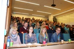 126 fagpersoner var samlet på konferansens første dag 10/2 i Gyldengården.