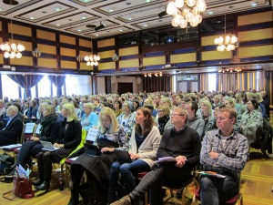 350 deltakere fra hele landet var samlet 10.02.2016 på Radisson Blu Caledonien Hotel i Kristiansand.