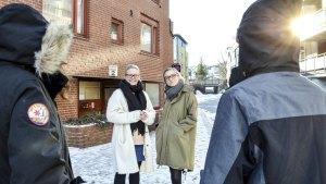 Hjelper unge på den tunge veien ut av hasjtåka. Frøydis Tveita og Katharina Omvik